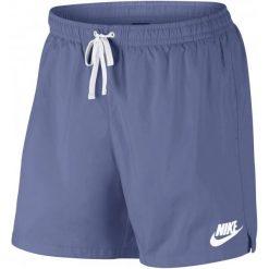 Nike Spodenki M Nsw Short Wvn Flow Purple Slate White Xs. Białe krótkie spodenki sportowe męskie Nike, z meshu. Za 129.00 zł.