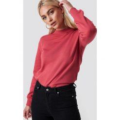 NA-KD Basic Bluza basic - Red. Różowe bluzy damskie NA-KD Basic, prążkowane. Za 100.95 zł.