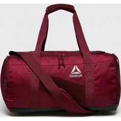 Reebok - Torba. Brązowe torby sportowe męskie Reebok, z materiału. W wyprzedaży za 149.90 zł.