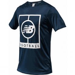 Koszulka treningowa MT833017GXY. Szare koszulki sportowe męskie New Balance, z materiału. Za 129.99 zł.