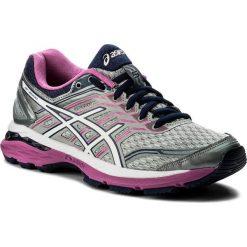 Buty ASICS - Gt-2000 5 (2A) T760N Midgrey/White/Pink Glow 9601. Szare obuwie sportowe damskie Asics, z materiału. W wyprzedaży za 289.00 zł.
