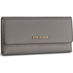 Duży Portfel Damski EVA MINGE - Caridad 2Y 17NB1372186EF 109. Szare portfele damskie Eva Minge, ze skóry. W wyprzedaży za 139.00 zł.