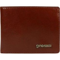 Portfel męski PIEMONTE. Żółte portfele męskie Gino Rossi, ze skóry. W wyprzedaży za 179.90 zł.