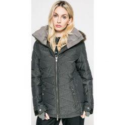 Roxy - Kurtka snowboardowa Quinn. Czarne kurtki damskie Roxy, z materiału. W wyprzedaży za 999.90 zł.