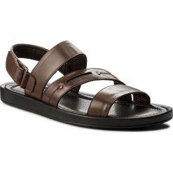 Sandały KRISBUT - 1157-3-1 Brąz. Brązowe sandały męskie Krisbut, ze skóry ekologicznej. W wyprzedaży za 169.00 zł.