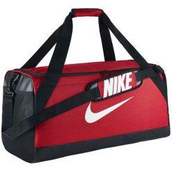 Nike Torba sportowa Brasilia M czerwona (BA5334-657). Torby podróżne damskie Nike. Za 89.00 zł.