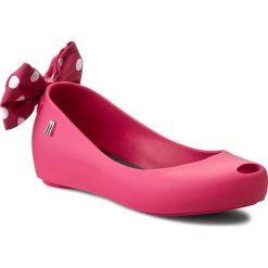 Baleriny MELISSA - Mel Ultragirl + Minnie Inf 31703  Pink 01148. Baleriny dziewczęce Melissa, z materiału. W wyprzedaży za 269.00 zł.