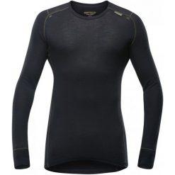 Devold Koszulka Męska Wool Mesh Man Shirt Black L. Czarne koszulki sportowe męskie Devold, z meshu, z długim rękawem. Za 295.00 zł.