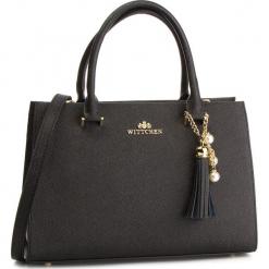 Torebka WITTCHEN - 87-4E-403-1 Czarny. Czarne torebki do ręki damskie Wittchen, ze skóry. W wyprzedaży za 459.00 zł.