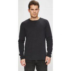 Casual Friday - Sweter. Czarne swetry przez głowę męskie Casual Friday, z bawełny, z okrągłym kołnierzem. W wyprzedaży za 179.90 zł.