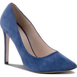 Szpilki SIMPLE - Melania DCG800-R45-4900-5700-0 59. Niebieskie szpilki damskie Simple, ze skóry. W wyprzedaży za 249.00 zł.