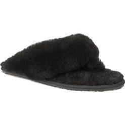Kapcie EMU AUSTRALIA - Tova W10105 Black. Czarne kapcie damskie Emu Australia, z materiału. Za 249.00 zł.