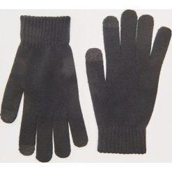 Rękawiczki - Czarny. Czarne rękawiczki męskie House. Za 19.99 zł.