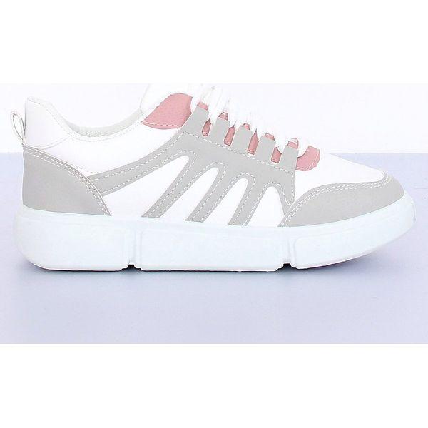 Buty sportowe biało szare BL150P Grey białe