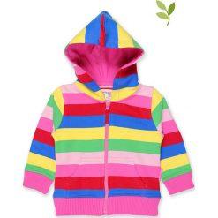 Bluza w kolorze jasnoróżowym ze wzorem. Bluzy dla dziewczynek marki bonprix. W wyprzedaży za 129.95 zł.
