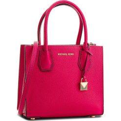 Torebka MICHAEL MICHAEL KORS - Mercer 30F6GM9M2L Ultra Pink. Czerwone torebki do ręki damskie MICHAEL Michael Kors, ze skóry. W wyprzedaży za 869.00 zł.