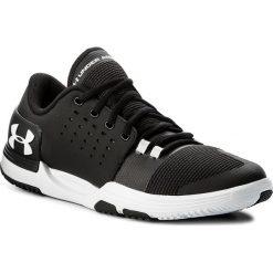 Buty UNDER ARMOUR - Ua Limitless Tr 3.0 1295776-001 Blk/Wht/Wht. Czarne buty sportowe męskie Under Armour, z materiału. W wyprzedaży za 229.00 zł.