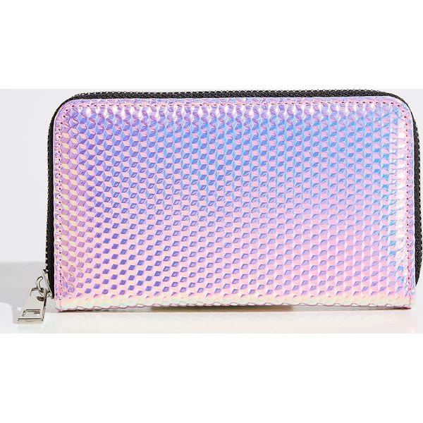 2c2e46b9cb3c0 Holograficzny portfel - Różowy - Portfele damskie marki Sinsay. Za ...