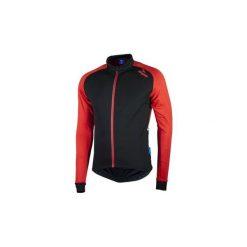 Bluza rowerowa męska Rogelli Caluso 2.0 XL. Czarne bluzy męskie Rogelli, z nadrukiem, z materiału. Za 122.90 zł.