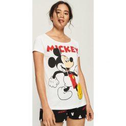 df103c95d248b8 Dwuczęściowa piżama z nadrukiem Mickey Mouse - Biały. Białe piżamy damskie  marki Sinsay, z