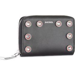 Duży Portfel Damski DIESEL - Jaddaa X04943 PR404 T8013. Czarne portfele damskie Diesel, ze skóry. W wyprzedaży za 379.00 zł.