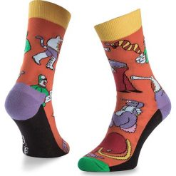 Skarpety Wysokie Unisex HAPPY SOCKS - BEA01-2000 Kolorowy Pomarańczowy. Brązowe skarpety męskie Happy Socks, w kolorowe wzory, z bawełny. Za 39.90 zł.