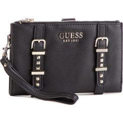 Duży Portfel Damski GUESS - SWVG71 69570 BLA. Czarne portfele damskie Guess, z aplikacjami, ze skóry ekologicznej. Za 279.00 zł.