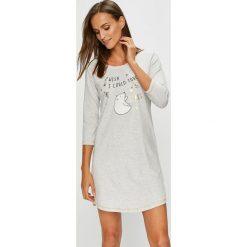 Henderson Ladies - Koszula nocna. Szare koszule nocne damskie Henderson Ladies, z nadrukiem, z bawełny. W wyprzedaży za 69.90 zł.