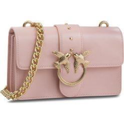 Torebka PINKO - Mini Love Simply Tracolla Al 18-19 PLTT 1P216V Y4YM Light Pink P26. Czerwone torebki do ręki damskie Pinko, ze skóry. Za 1,129.00 zł.