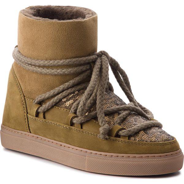 Buty INUIKII Sneaker 70202 7 Sequin Olive
