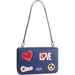 Torebka LOVE MOSCHINO - JC4083PP17LJ0750 Blu. Niebieskie torebki do ręki damskie Love Moschino, ze skóry ekologicznej. Za 909.00 zł.