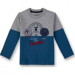 Koszulka w kolorze szaro-niebieskim. Niebieskie t-shirty dla chłopców marki Eat ants, z nadrukiem, z bawełny, z długim rękawem. W wyprzedaży za 62.95 zł.