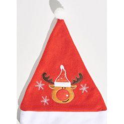 Świąteczna czapka - Czerwony. Czapki i kapelusze damskie marki WED'ZE. Za 7.99 zł.