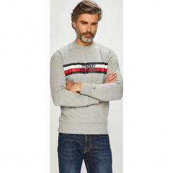 Tommy Hilfiger - Bluza. Szare bluzy męskie Tommy Hilfiger, z nadrukiem, z bawełny. Za 449.90 zł.