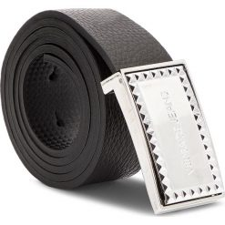 Pasek Męski VERSACE JEANS - D8YSBF05 70867 MI7. Czarne paski damskie Versace Jeans, w paski, z jeansu. Za 349.00 zł.