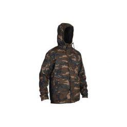 Kurtka myśliwska zimowa męska SIBIR 100 CAMO. Brązowe kurtki męskie SOLOGNAC, na zimę. Za 149.99 zł.