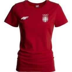 Koszulka damska Serbia Pyeongchang 2018 TSD700 - czerwony wiśniowy. Czerwone bluzki damskie 4f, z nadrukiem, z bawełny, z dekoltem na plecach. W wyprzedaży za 79.99 zł.