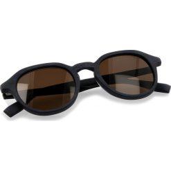 Okulary przeciwsłoneczne BOSS - 0321/S Mtblue Wood 2WF. Niebieskie okulary przeciwsłoneczne damskie Boss, z tworzywa sztucznego. W wyprzedaży za 399.00 zł.