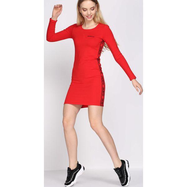 9f98f6590f Czerwona Sukienka Apathy - Czerwone sukienki damskie marki Born2be ...