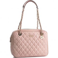 Torebka GUESS - HWVG71 75200 CAO. Czerwone torebki do ręki damskie Guess, z aplikacjami, ze skóry ekologicznej. Za 629.00 zł.