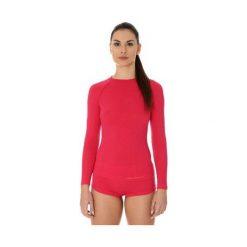 Brubeck Koszulka damska active wool malinowa r. S (LS12810). T-shirty damskie Brubeck. Za 189.74 zł.