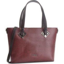 Torebka NOBO - NBAG-D0350-C005 Bordowy Czarny. Czarne torebki do ręki damskie Nobo, ze skóry ekologicznej. W wyprzedaży za 179.00 zł.