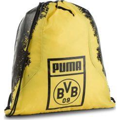 Plecak PUMA - Bvb Fan Gym Sack 075568 01 Puma Black/Cyber Yellow. Czarne plecaki damskie Puma, z materiału, sportowe. Za 79.00 zł.
