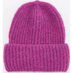 Czapka - Różowy. Czapki i kapelusze damskie marki WED'ZE. W wyprzedaży za 39.99 zł.