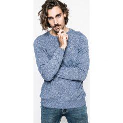 Medicine - Sweter Nocturnal. Niebieskie swetry przez głowę męskie MEDICINE, z bawełny, z okrągłym kołnierzem. W wyprzedaży za 59.90 zł.