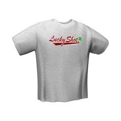 GamersWear LUCKY SHOT T-Shirt Grey (S)  (5025-S). Szare t-shirty i topy dla dziewczynek GamersWear. Za 56.80 zł.