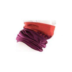 KOMIN NA SZYJĘ 500 ZIMOWY. Fioletowe szaliki i chusty damskie B'TWIN, na zimę, z materiału. W wyprzedaży za 14.99 zł.