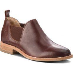 Półbuty CLARKS - Edenvale Page 261362764 Dark Tan Leather. Półbuty damskie marki Clarks. W wyprzedaży za 279.00 zł.
