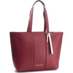 Torebka CALVIN KLEIN - City Leather Shopper K60K604476 628. Czerwone torebki shopper damskie Calvin Klein, ze skóry. Za 1,299.00 zł.