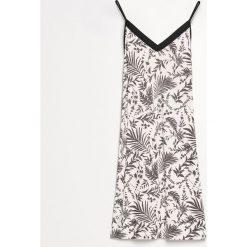 Koszula nocna - Kremowy. Białe koszule nocne damskie Reserved. Za 59.99 zł.